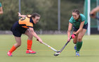 Greenfields v Athlone Connacht Junior Cup Hockey final at Dangan.<br /> Julieanne Langan, Greenfields and Meadhbh Tiernan, Athlone