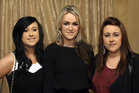 Attending the Killimordaly Hurling Club Social at the<br />  Meadow Court Hotel, (from left),<br />  Sinead, Lorraine and Darina Ryan.