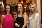 Nicola Slyne, Louise Lohan and Lisa O'Neill pictured at the Connacht Rugby Awards dinner at the Ardilaun Hotel.