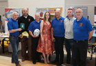 Some of the members of Oranmore Maree Coastal Search Unit at Oranmore Enterprise Town Business, Sports and Community Expo, hosted by the Bank of Ireland at Calasanctius College last weekend. From left: Fergus Boyle, Mike Cummins, Joe Dempsey, Sharon Dempsey, Joe Kennelly, Cillian Morris and Sean Green.