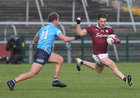 Galway v Dublin Allianz Football League Division 1 Round 7 game at Pearse Stadium.<br /> Galway's Shane Walsh and Dublin's Ciaran Kilkenny