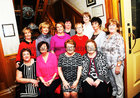 Mervue Ladies at their  Social Club Golden Jubilee dinner in the Park House Hotel, were: Seated Mary Jones, Mary Condon, Secretary, Mary Alone, President and Kate Carr, Standing, Vera Creane, Nora Ann McMahon, Monica Forde,  Claire Doyle, Nora Curran, Carmel Wynne, Martina Lennon  and Tina Burke.