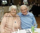Joan and Sean Colleran, at the Claddagh Senior Citizens dinner in the Galway Bay Hotel.