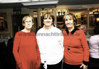 <br /> Clare Doyle, Tina Burke and Vera Creane, At the Mervue Ladies  Social Club Golden Jubilee dinner in the Park House Hotel,