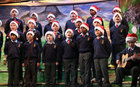 Pupils taking part in their Christmas Show at St Patrick's Boys' National School.