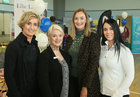 Mary Davin Educogym, Eileen Lillis, Maldron Hotel, Laura Fahy, Ellie Lane Boutique and Tara McFadden, Educogym, at the Bank of Ireland Enterprising Town competition hosted at Oranmore Community Centre. Oranmore was nominated for the national award.<br />