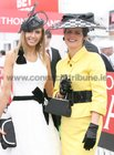 Sheila Fallon, Kinvara and Maria Murphy, Renmore, pictured at Ladies Day at the Galway Races.