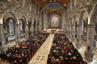 The Funeral Mass for former Bishop of Galway, Most Rev Eamonn Casey, at Galway Cathedral.