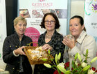 Kate Wright of Kate's Place Cafe and Cookery School, Geraldine Costello, Oranmore Town Twinning, and Margaret McNulty, Oranmore Tidy Towns, at the Bank of Ireland Enterprising Town competition hosted at Oranmore Community Centre.