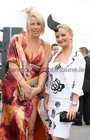 Lynn and Liz Murphy from Quiff Hair Studio Westside, pictured at Ladies Day at the Galway Races.