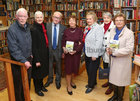 Pictured at the launch of Padraic McCormack's book 'Beneath the Silence' in Charlie Byrne's Bookshop were Padraic and his wife Eilish, Tom and Margaret Curley, Breeda Leonard, Maureen Forde and Helen Dorai-Raj, all of the Percy French Society, Galway.