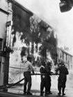 The Galway city fire August 1971.  Photograph by Stan Shields