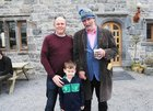 <br /> Donal Cahalane, with Dr Eamon O'Donoghue, Claregalway, Castle,  at the Claregalway Castle Spring,  Garden, Food and Craft Fair on Sunday.