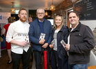 Liam Chadwick, Rahoon, Derek Bryan, Knocknacarra, Anne Marie Chadwick and Roger Kane, Oranmore, at Galway Music Residency's 2019/20 Season Launch at Rúibín Bar and Restaurant, Dock Street.