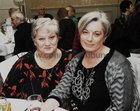 Siobhan and Liz Colleran, at the Claddagh Senior Citizens dinner in the Galway Bay Hotel.