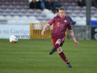 Galway United v UCD League game at Eamonn Deacy Park.<br /> Eoin McCormack scoring Galway United's first goal