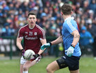 Galway v Dublin Allianz Football League Division 1 game at the Pearse Stadium.<br /> Galway's Johnny Heaney