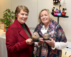 Mary O'Dowd, Bohermore, and Celia Lennon, Claregalway, at the Galway Flower and Garden Club Christmas Gala Night in the Menlo Park Hotel.
