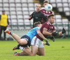 Galway v Dublin Allianz Football League Division 1 Round 7 game at Pearse Stadium.<br /> Galway's Paul Conroyand Dublin's John Small
