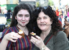 Lily May and Karen Healy of Massimo at the Westend Street Feast on Easter Monday.