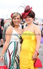 Lisa Rankin, Barna and Donna Folan, Claddagh, enjoyinh Ladies Day at the Galway Races.