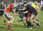 Connacht v Munster Guinness PRO14 game at the Sportsground.<br /> Connacht's Paul Boyle and Tom Daly