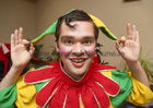 Richard Brown who plays the part of Dopey Dave in Sleeping Beauty, the 40th Annual Renmore Pantomime at the Town Hall Theatre.