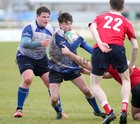 "St Joseph's College ""The Bish"" v St Muredach's College Top Oil Schools Senior B Cup final at the Sportsground.<br /> Dylan Keane, St Joseph's College"