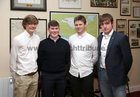 "Coaches Eoin Finnegan, Ben Bradley, Tom Ostheimer and Michael Daly at St Joseph's College ""The Bish"" Rowing Club dinner at Galway Rowing and Yachting Club"