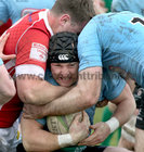 Galwegians v Cashel Ulster Bank All Ireland League Division 2A game at Crowley Park.<br /> John Cleary, Galwegians