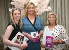 Ester Cunningham, Homes and Business Advisor, AIB, Loughrea, Ann Marie Cannon, Homes Advisor, AIB, Newcastle, Galway City, and Connie Bolton, Manager, AIB, Loughrea, at the Lough Rea Hotel & Spa Wedding Showcase.