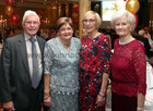 Joe and Maureen McCarthy, Anastasia Gilroy and Josephine Flanagan at the Renmore Active Retirement Association 20th anniversary dinner in the Galway Bay Hotel.