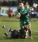 Connacht v Zebre Guinness PRO14 game at the Sportsground.<br /> Connacht's Caolin Blade