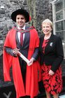 <br /> Dr Killian O'Brien, Salthill, with his mother Ellen, after he was conferred with a Ph,D. Degree at NUIGalway.
