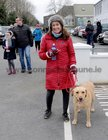 <br /> Eugenia Kelly, with Isla,  taking part in the Menlo National School  walk in aid of Ability West.