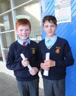 <br /> Adam Kennedy and Oisin Quinlan, graduated at St. Patricks National School Lombard Street.