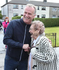 "Eileen, a big fan of television presenter and Rose of Tralee host Dáithí Ó Sé, is met by him on her arrival at Davis Road where he announced to the crowd ""I am bringing her down to the Rose of Tralee ... we have a winner already""."