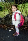 <br /> Ali Evans, on her first Day at Menlo National School.