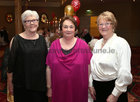 Dympna Moynihan, Maura Diviney and Winnie Taylor at the Renmore Active Retirement Association 20th anniversary dinner in the Galway Bay Hotel.