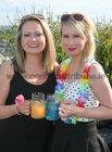 Lorraine Walsh and Ann Mahony, both of Chanelle Group, at the Lough Rea Hotel & Spa Corporate BBQ Evening.