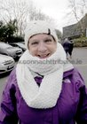 <br /> Caroline Fay,  taking part in the Menlo National School  walk in aid of Ability West.