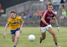 Galway v Roscommon Connacht Under 20 Football sem-final at Tuam Stadium.<br /> Galway's Ryan Forde and Roscommon's D Duff