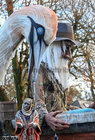 The start of the Macnas parade, 'Port Na bPúcaí' (Song of the Spirits), at NUI Galway