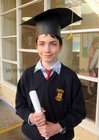 <br /> Cillian Maughan, graduated at St. Patricks National School Lombard Street.