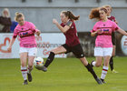 Galway Women's FC v Wexford Youths Só Hotels Under 17 Women's National League Final at Eamonn Deacy Park.<br /> Saoirse Healy, Galway Women's FC, and Beth Evesson, and Kira Bates Crosbie, Wexford Youths