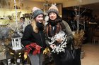 <br /> Katie Cooke, Shantalla, with her mother Jennifer, at the EZLiving Family and Friends   Christmas Evening at the store.