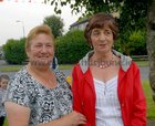 <br /> Breege O'Dowd and Mary Walsh-McPhilbin,  at the John Coogan Park, 35th birthday celebrations