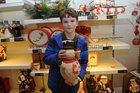 <br /> Eoin Reilly, Bushypark, at the EZLiving Family and Friends   Christmas Evening at the store.