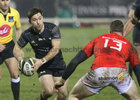 Connacht v Munster Guinness PRO14 game at the Sportsground.<br /> Connacht's Caolin Blade