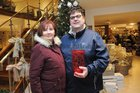 <br /> Sharon and Ken Gavin, Renmore, at the EZLiving Family and Friends   Christmas Evening at the store.